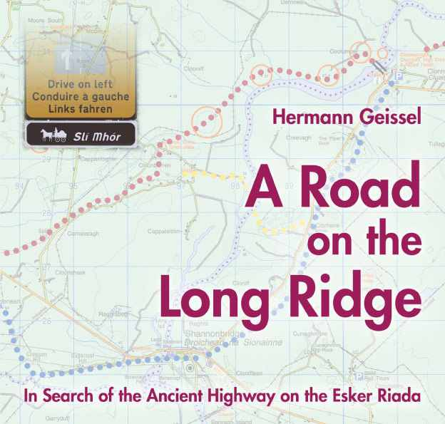 A road on the long ridge, book cover.